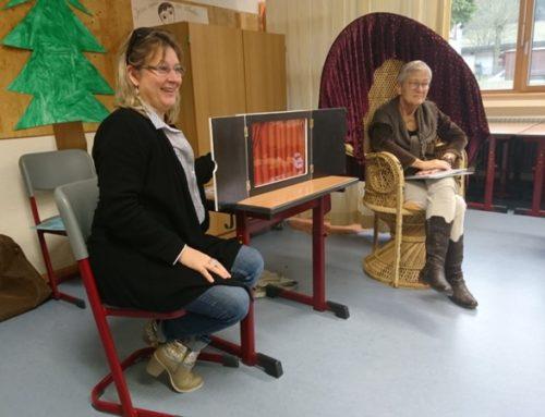 Ursula Querfurth liest an der Hörnlebergschule